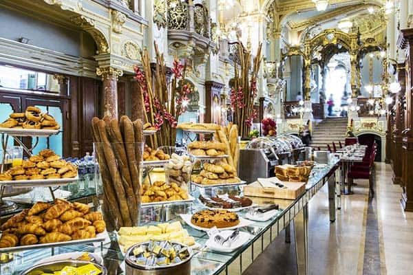 Have a taste of freshly baked pastries during your stay at the New York Palace