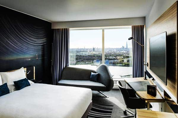 Have an amazing view of London in your room at Novotel London