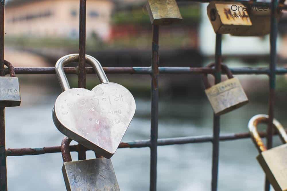 padlocks Strasbourg