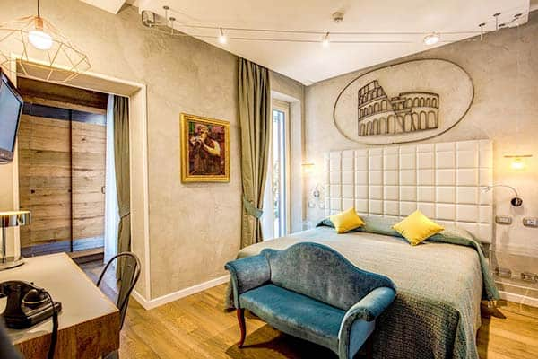 Best Family Hotel in Rome; The Parlamento Boutique Hotel