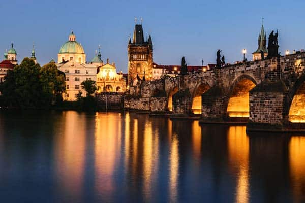 The Prague Castle is the world's biggest medieval castle complex according to Guinness Book of World Records