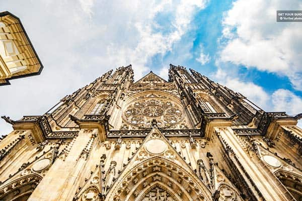 The Prague Castle stands in an 18-hectare land that will fill your list of things to do