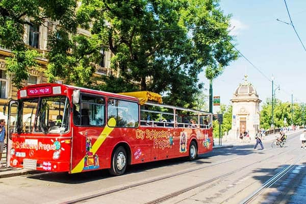 See Prague in the most convenient way through the Hop-On Hop-Off Bus Tour