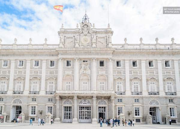 Visit the magnificent Royal Palace of Madrid during your stay