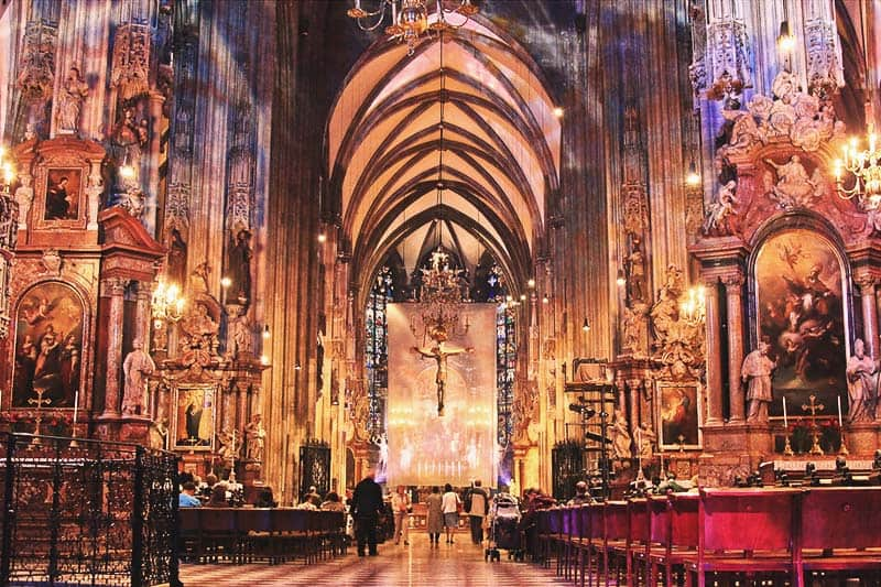 St. Stephen's Cathedral is the mother church of the Roman Catholic Archdiocese of Vienna