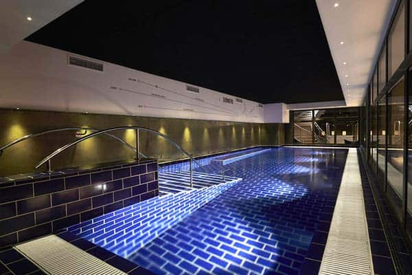 Take a swim on your free time at the Steel House pool