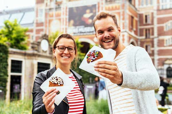 Don't leave Amsterdam without having to try their stroopwafels
