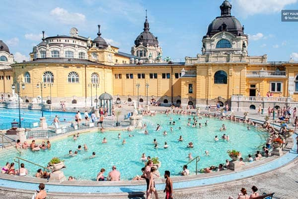 Don't miss out to get a thermal bath at the Szechenyi