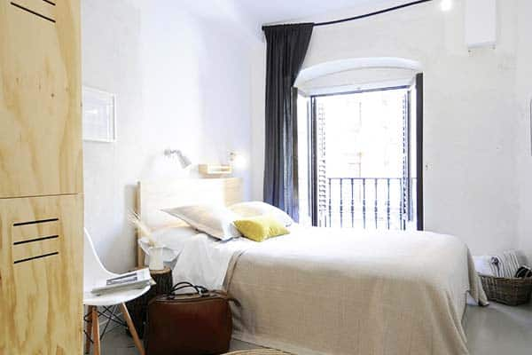 Rooms in The Hat Madrid are clean and comfy capable for a good sleep