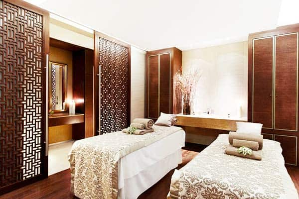 The Ritz-Carlton,Vienna also offers a spa you spoil yourself with