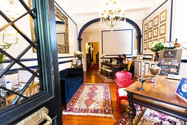 Rooms at the Torel Palace are individually and tastefully decorated