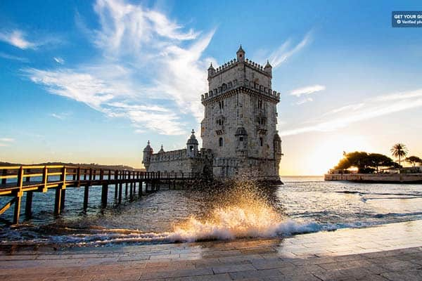 Belém Tower is one of Lisbon's most iconic monuments being known as UNESCO's World Heritage Site