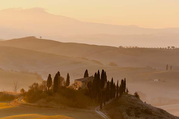 Beautiful Tuscany in Italy