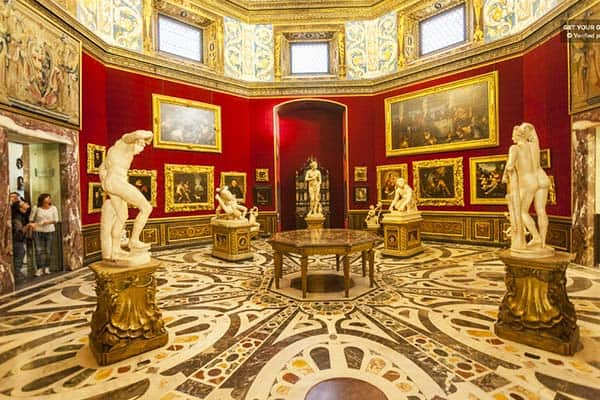 Definitely visit the Uffizi Gallery being best known museum in the world