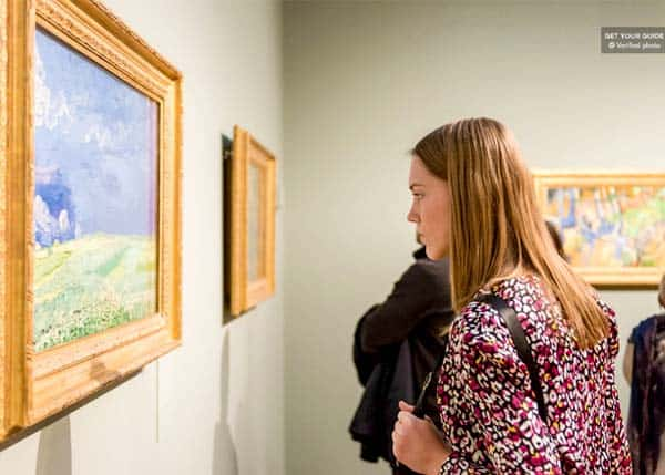 Visit the Van Gogh Museum and be amazed by paintings and work of arts