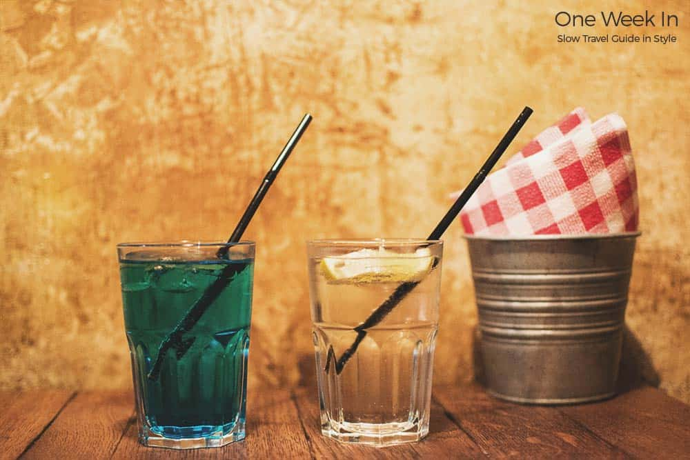 Vintage drinks Strasbourg
