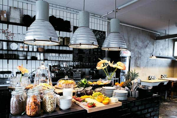 You can have a buffet breakfast at Wallyard Concept Hotel at a very good deal