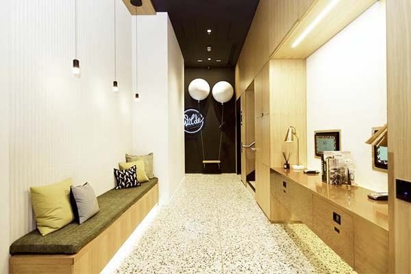 The Wilde Aparthotels is modernly designed and very clean