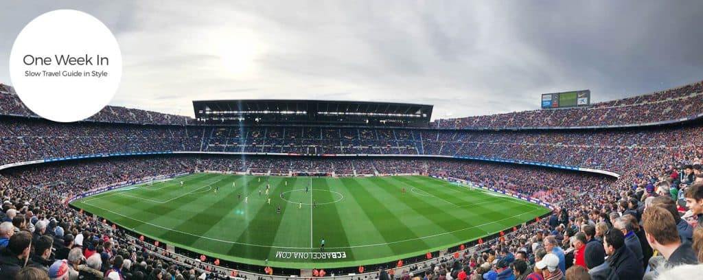 Enter the FC Barca stadium for a real-life football match, a life time experience!