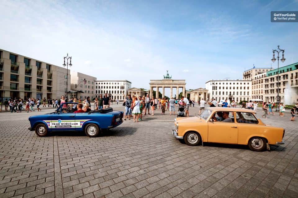 Trabant Tour in Berlin