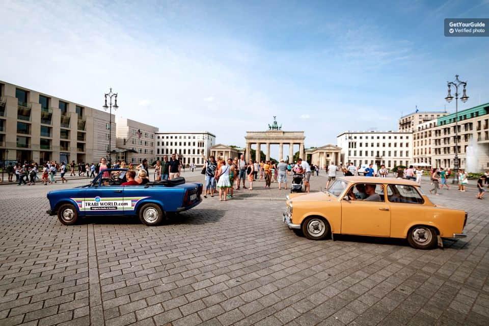 Trabant Tour in Berlin