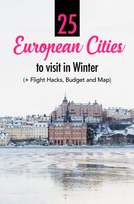 25 Best European Cities to Visit in Winter (December til March)