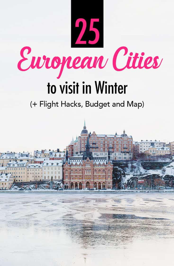 25 Best European Cities to Visit in Winter