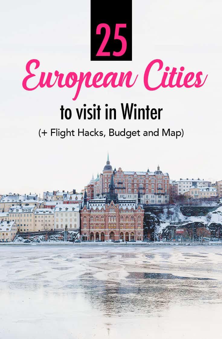 25 Best European Cities to Visit in Winter