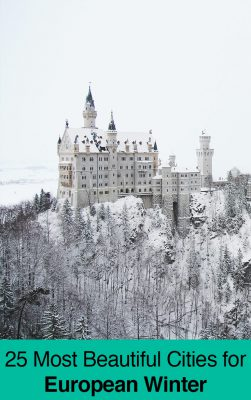 25 Best European Cities to Visit in Winter (December til March)