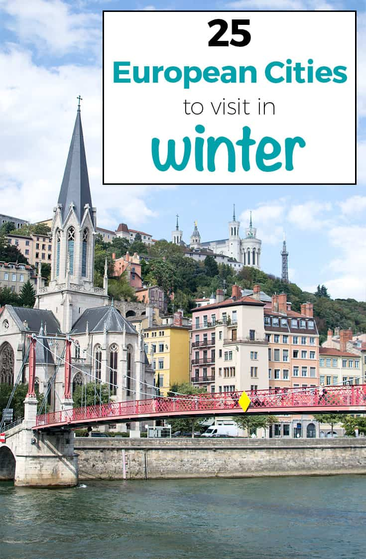 25 BEST European Cities To Visit In Winter 2018/ 2019
