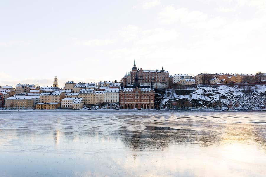 Stockholm in winter - even more precious