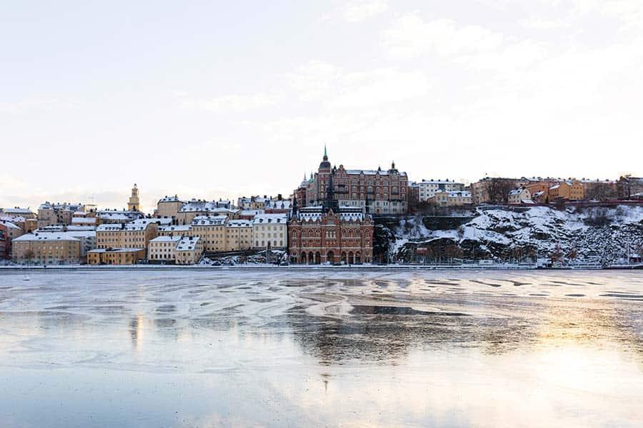 Stockholm in winter - even more precious