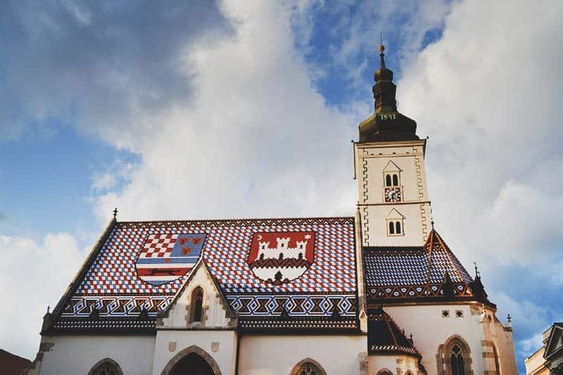 Church in Zagreb
