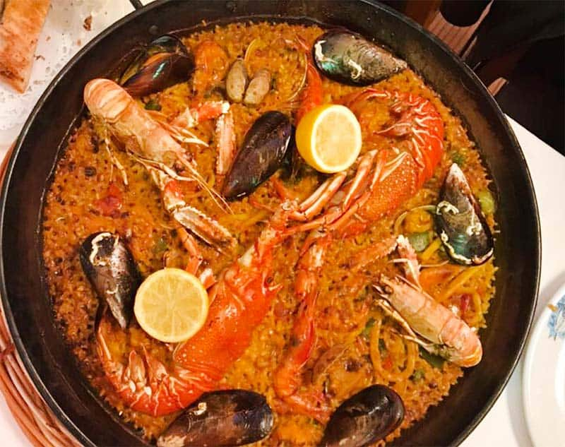 Restaurante La Barca del Salamanca - YUMMY for Paella and Sea food