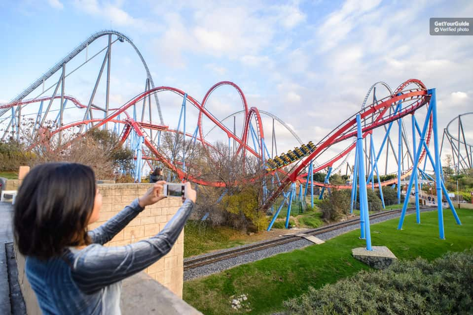 Portaventura - the coolest Theme Park in Spain