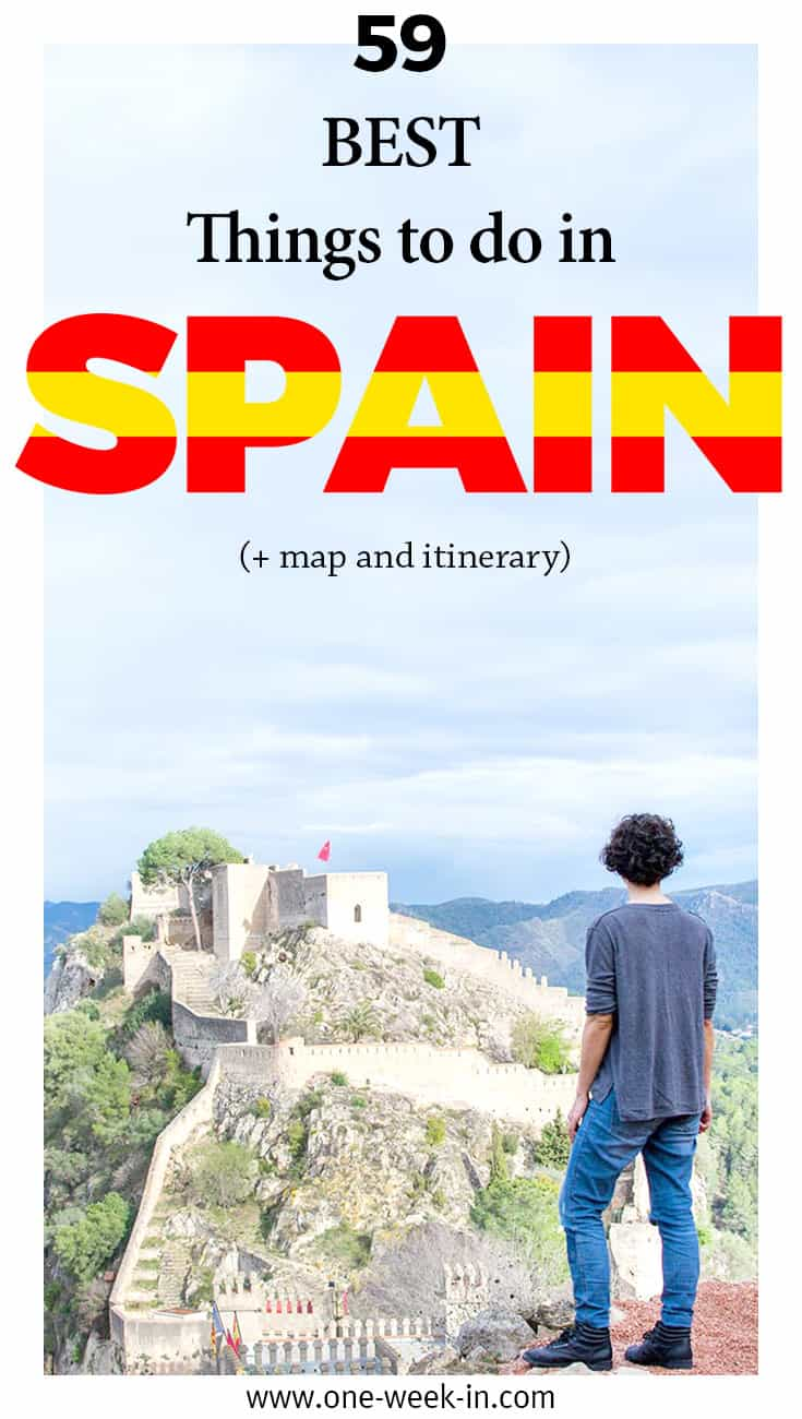 North Of Spain Map.39 Best Things To Do In Spain 2019 Itinerary Hidden Beaches Map