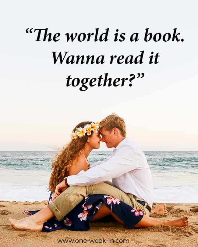 The world is a book. Wanna read it together?