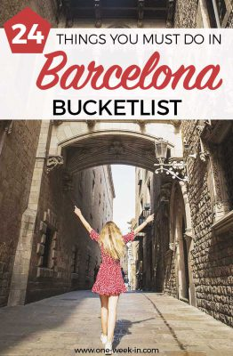 Things you must do in Barcelona
