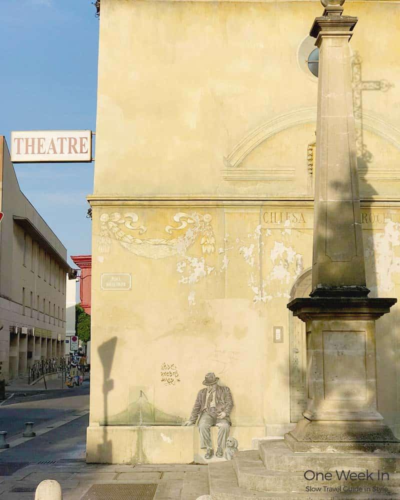 Theatre in Avignon, France