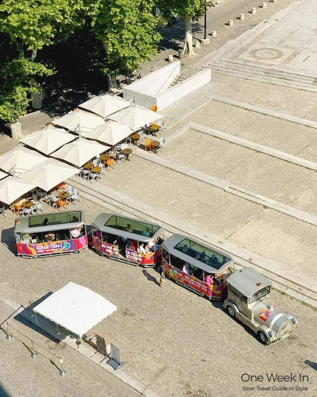 Tourist Train in Avignon