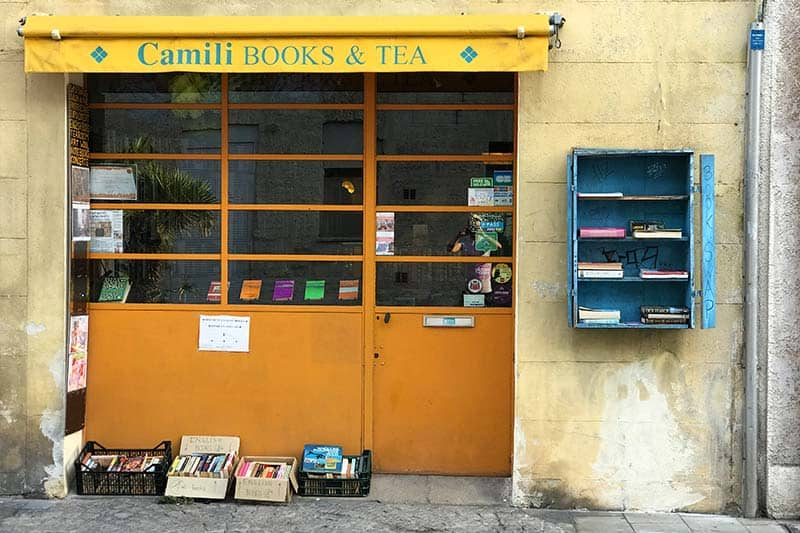 Book Swapping in Avignon, France