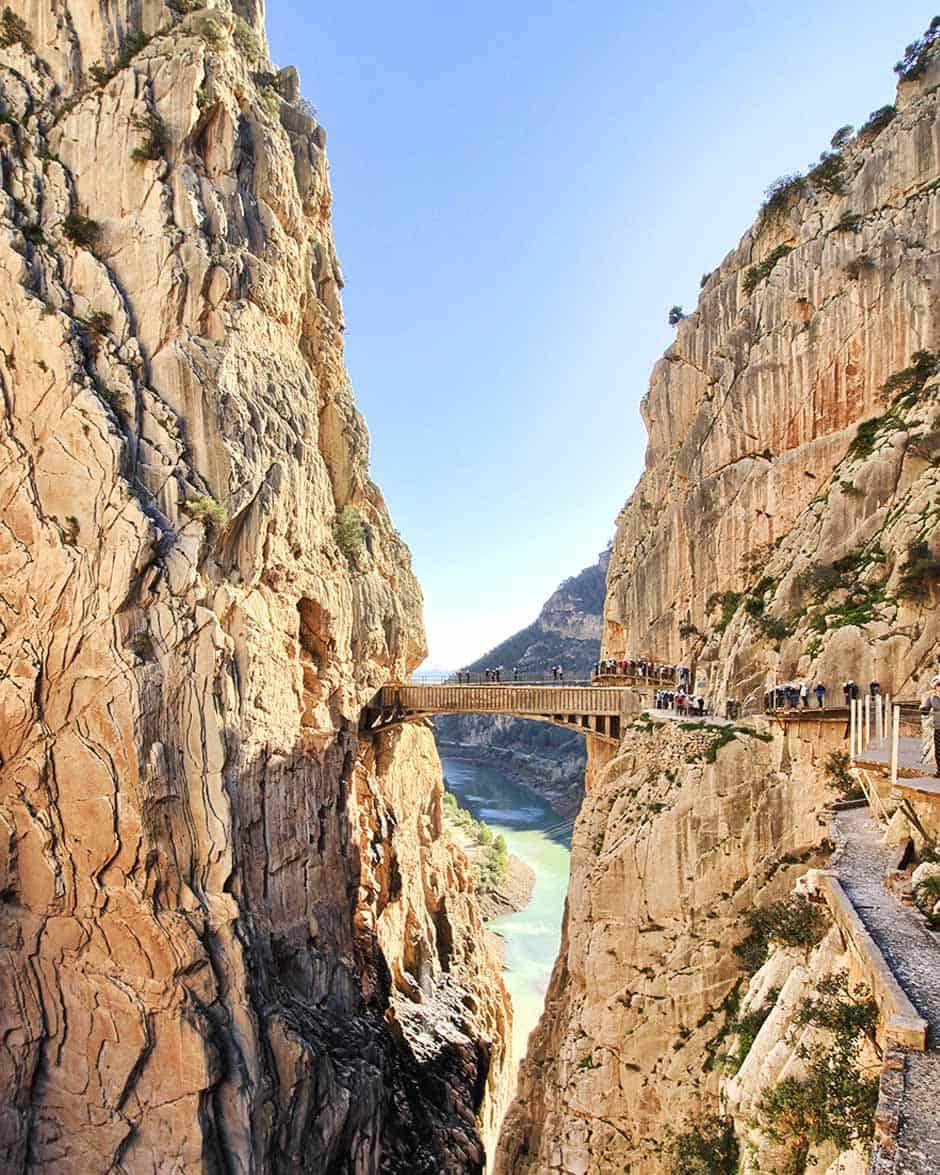 """Brave the """"Caminito del Rey"""" in Spain"""