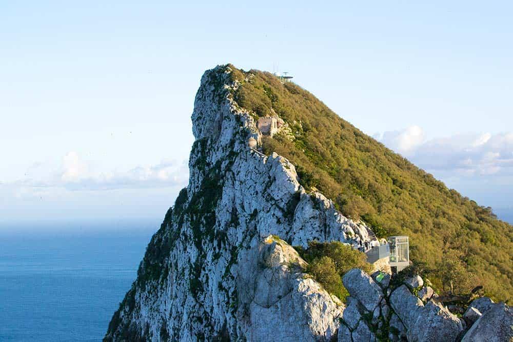 Gibraltar's rock, Spain