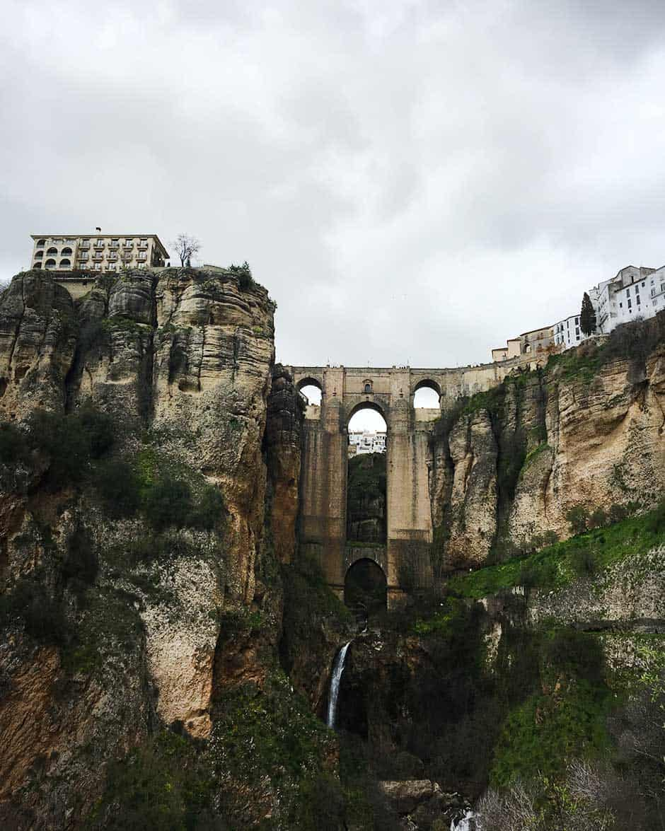 Ronda, beautiful city in Spain