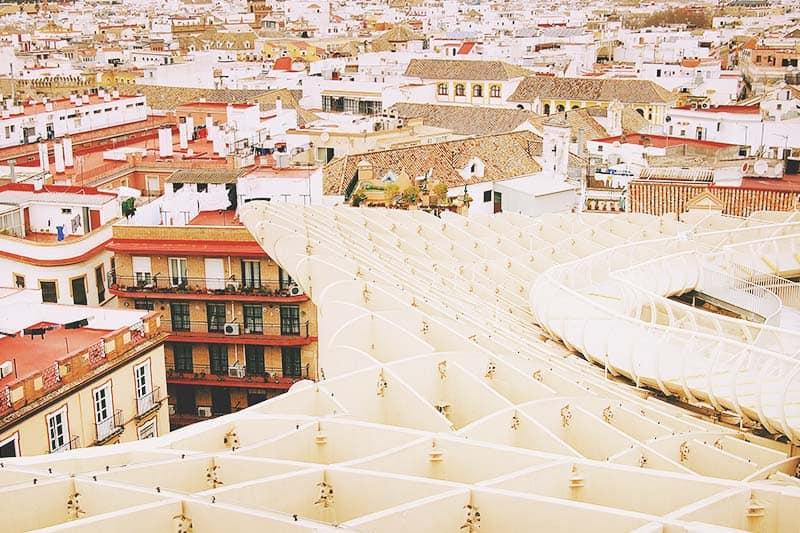 Las setas de Sevilla, Spain