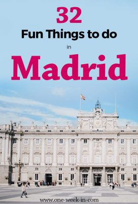 23 Fun Things to Do in Madrid - Roof Tops Bars, Hipster and Hammam