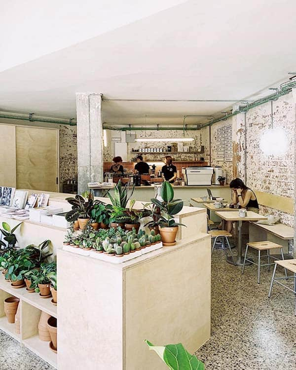 Orval Barcelona; A super cool hipster coffee place in Barcelona