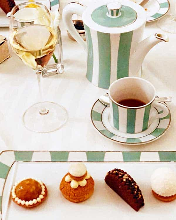 Claridges Champagne Afternoon Tea