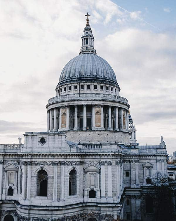 visit St Paul's Cathedral in London