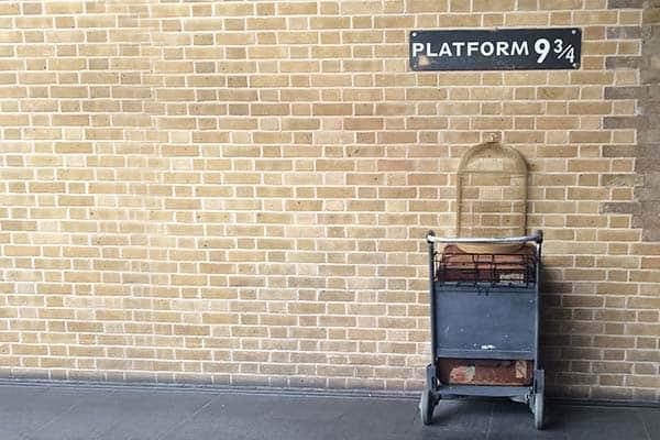 Harry Potter platform in London